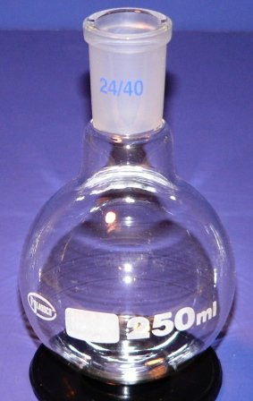 Flask, Boiling RB Heavy Duty 250ml 24/40 joint