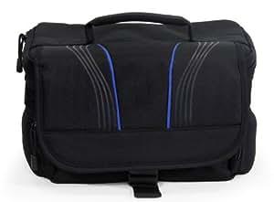 Navitech-sac pour appareil photo numérique Fujifilm X-PRO1, noir(emplacement pour objectifs) (Canon EOS 100D/Canon EOS 700D, emplacement pour objectif)