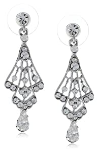 Nina Petite Crystal Chandelier Earrings