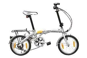 """16"""" Aluminium folding bike - BLACK"""