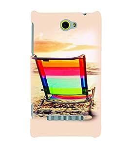 PrintVisa Travel Beach 3D Hard Polycarbonate Designer Back Case Cover for HTC Windows Phone 8