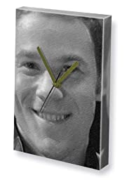 AARON ASHMORE - Canvas Clock (LARGE A3 - Signed by the Artist) #js001