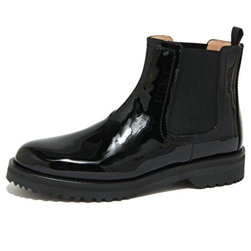 1807O beatles CAR SHOE nero tronchetti donna boots women [39]