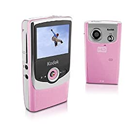 Kodak Zi6 Pocket HD Camcorder (Pink)