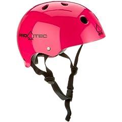 Pro-tec Classic Gloss Skateboard Helmet by Pro-Tec