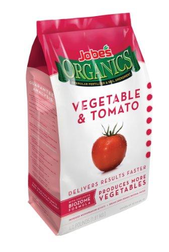 Jobe's 09026 Organic Vegetable & Tomato Granular