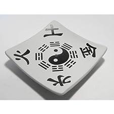 Incensario Yin Yang Blanco