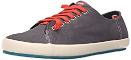 Camper Men\'s Peu Rambla Vulcanizado Walking Shoe, Dark Grey, 40 EU/7 M US