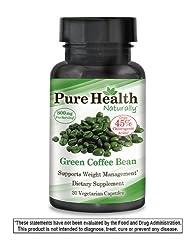 Pure Health Green Coffee Bean