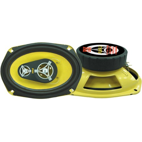 Pyle Plg69.3 6-Inch X 9-Inch 360 Watt Three-Way Speakers
