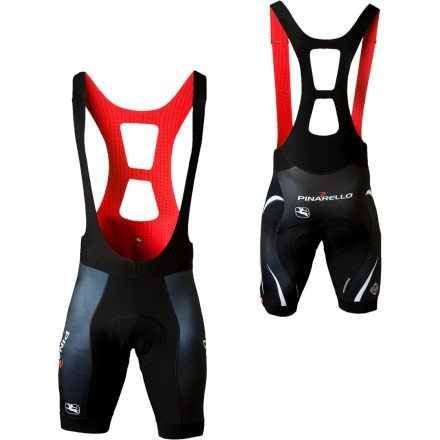 Giordana Trade FRC Custom Pinarello Bib-Short with Cirro Insert Pinarella Black/White, L