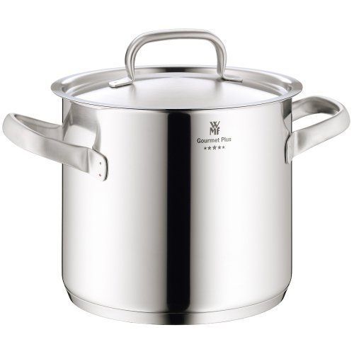 WMF Gourmet Plus Stainless Stee Stock Pot with Lid, 8.8 Litres