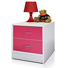 Click n Easy No Tools 2-Tone 2-Drawer Chest, NT-11161
