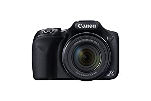 Canon PowerShot SX530 HS 16.0 MP CMOS Digital Camera with 50x Optical Image Stabilized Zoom (24-1200mm) and 3-Inch LCD HD 1080p Video (Black) (Certified Refurbished)