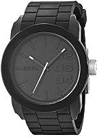 Diesel - DZ1437 - Montre Homme - Quartz Analogique - Cadran Noir - Bracelet Silicone Noir