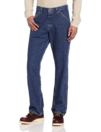 Lee Dungarees Mens Big & Tall Carpenter Jean, Original Stone, 44Wx29L