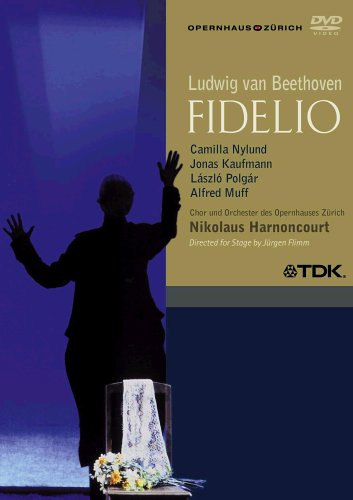 Cover art for  Beethoven - Fidelio / Nylund, Kaufmann, Polgar, Muff, Magnuson, Strehl, Groissbock, Harnoncourt, Zurich Opera