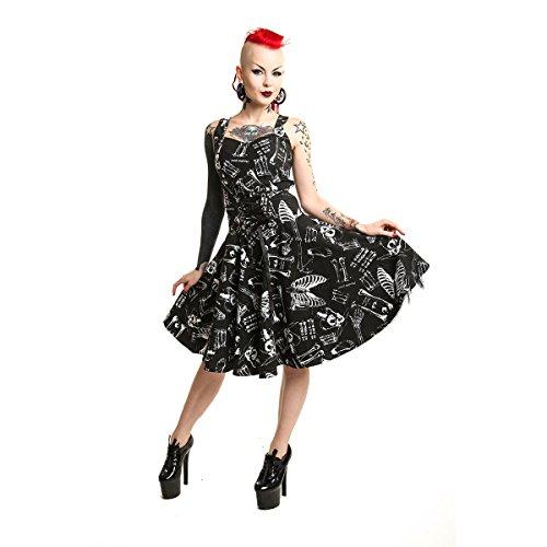 Vixxsin -  Vestito  - flare - Donna Black and White Large