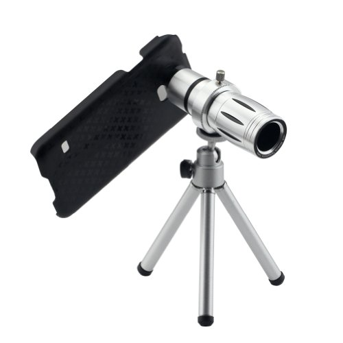 Lemfo Mobile Phone Lens12X Zoom Optical Telescope Cell Phone Camera With Tripod Holder For Samsung Galaxy S5 Sv I9600 S 5