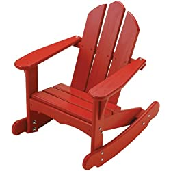 Little Colorado Child's Adirondack Rocking Chair- Red