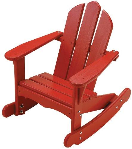 Little Colorado Child's Adirondack Rocking Chair- Red