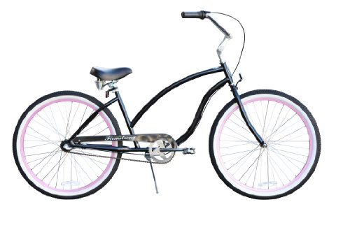 Chief multi-speed (3sp) Cruiser Bicycle Firmstrong Women's 26