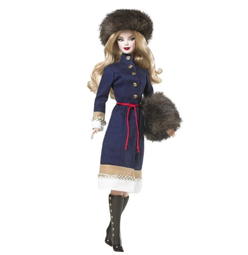 Top Barbie Dolls of The World Russia Barbie Doll