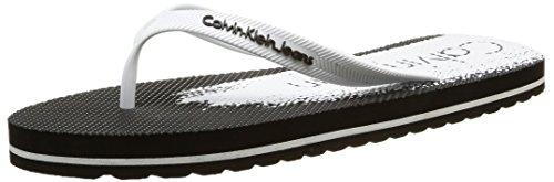 Calvin Klein JeansStewart Jelly - Spiaggia e piscina Uomo , Nero (Noir (Bwy)), 43