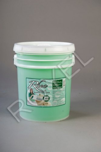 Rhea Laundry Detergent 5 Gallon Pail, 672 Oz $25.00 Each, Compared to Top Leading Brands (Number 10 Can Lids compare prices)