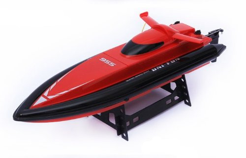 """18.5"""" Radio Remote Control Speed Racing Boat 955 W/Water Cooling System R/C Ready To Run (Red)"""