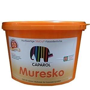 Caparol Wandfarbe Muresko SilaCryl Fassadenfarbe 12,5 L weiß  BaumarktKundenbewertung und Beschreibung