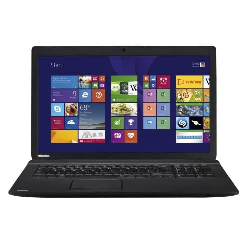 Toshiba Satellite C70D-B-10U 17.3-Inch Notebook (Black) - (AMD A4-6210 1.8GHz, 8 GB RAM, 1 TB HDD, Windows 8.1)