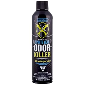 MediClean X5000 Sports Gear Odor Killer, 10-Ounce, 280g, Aerosol by Dri-Eaz