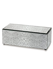 M&S Collection Metallic Animal Print Jewellery Box