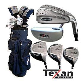 Texan Classics LCG Power Cavity Golf Club Set w/Bag