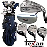 41KNQlUv3zL. SL160  Texan Classics LCG Power Cavity Golf Club Set w/Bag