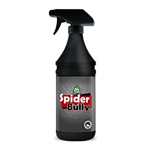 Spider bully no more spiders natural spray Natural spider repellent