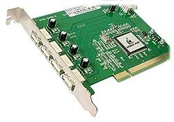 IOGEAR 5-Port Hi-Speed USB 2.0 PCI Card GIC251U