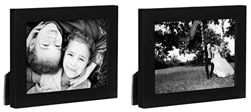Two Tabletop Frames Made to Display Photographs Sized 6x8