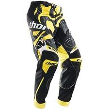 THOR CORE MOD MX MOTOCROSS DIRT PANTS YELLOW 36