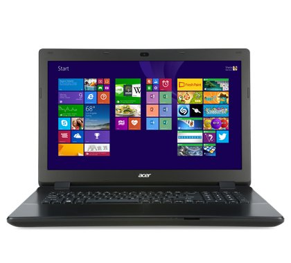 "Acer TravelMate P2 76-M-32FM - Intel Core i3-4005U (1.70GHz, 3MB), 43.942 cm (17.3 "") LED LCD (1600x900), 4GB DDR3 SDRAM, 500GB HDD, Intel HD Graphics 4400, 802.11b/g/n, Gigabit Ethernet, Webcam, Windows 7 Professional 64-bit"