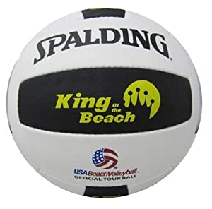 Buy Spalding King Of Beach USA Beach Official Tour Volleyball by Spalding