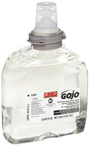 GOJO 5364-02 TFX E2 Foam Sanitizing Soap, 1200 mL (Case of 2)