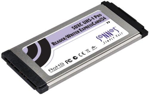 Sonnet SDXC UHS-I Pro Reader/Writer ExpressCard/34
