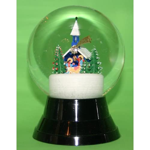 Christmas Chapel Snow Globe