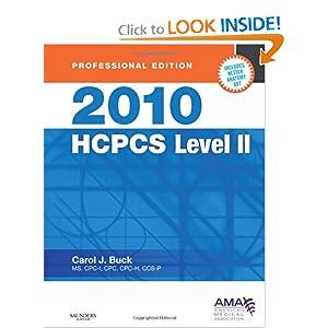 hcpcs level ii codes