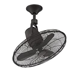 Home Decorators Collection Bentley III 22 in. Oscillating Natural Iron Ceiling Fan