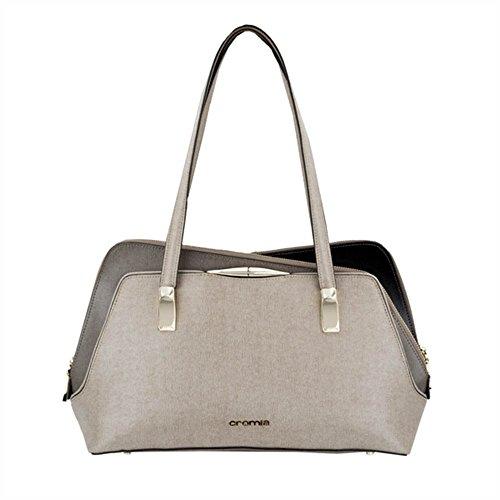 Borsa shopping CROMIA Angelina 1402454 beige