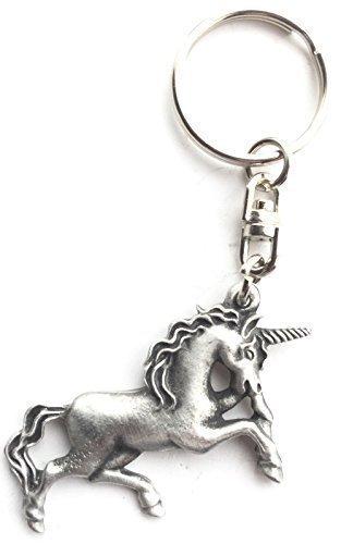 unicorn-handmade-pewter-keyring-badge-organza-bag-kr748