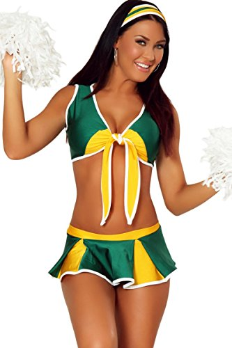 3WISHES 'Winning Cheer Costume' Sexy Cheerleader Costumes for Women